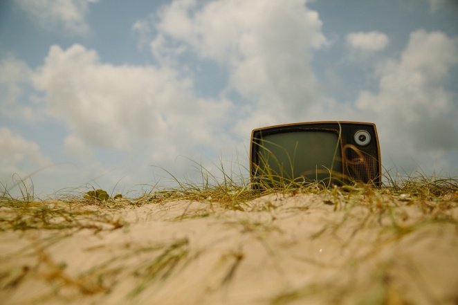 tv outside