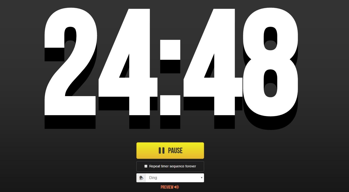 5 minute online timer